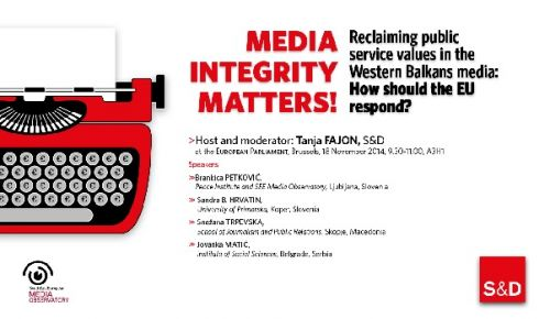 """Media Integrity Matters"" in the European Parliament"