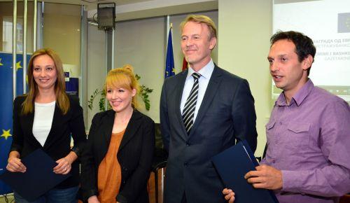 Sashka Cvetkovska- Winner of EU Award for Investigative Journalism in Macedonia