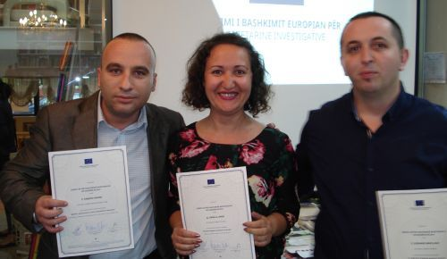 ALBANIA: Winners announced at EU Award for Investigative Journalism ceremony