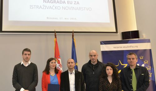 SERBIA: Best 2015 stories received EU Award for Investigative Journalism