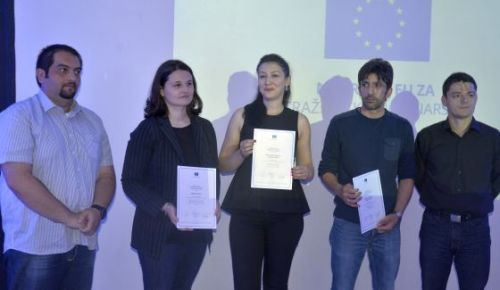 Branka Mrkić Radević and Dalibor Tanić win EU Award for Investigative Journalism in BiH