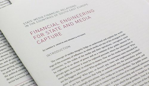 Financial engineering for state and media capture