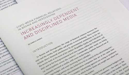 Media integrity report: State-media financial relations in Bosnia and Herzegovina
