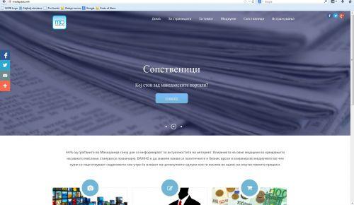 MediaPedia.mk– online news media ownership