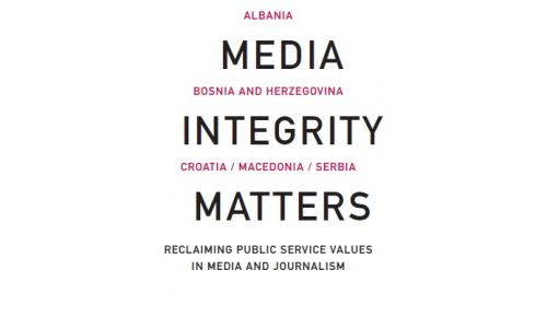 """""""Media integrity matters """" – New book of the SEE Media Observatory"""