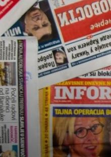A Difficult Profession -  Media Freedom Under Attack in the Western Balkans