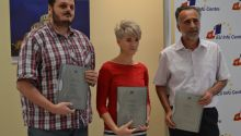 Sead Sadiković the first winner of the EU Award for Investigative Journalism in Montenegro