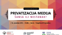 Upcoming conference: Privatization of the media - a chance or disappearance?