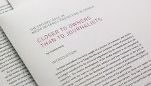 Editors in Serbia: Closer to owners than to journalists