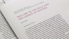 Decline in the Role and Influence of Editors in Albania