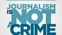 """I am a journalist! Journalism is not a crime!"" campaign launched by media freedom advocates in Turkey"